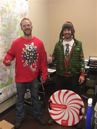 Ugly Sweater Competition 2017